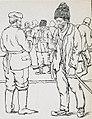 Armata 9 germana - Album foto - Gravura - un taran roman cerand o tigara.jpg