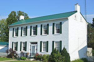 National Register of Historic Places listings in Jackson County, West Virginia - Image: Armstrong House in Ripley
