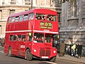 Arriva London Routemaster bus RM713 (TSK 270), Whitehall, route 159, 9 December 2005 uncropped.jpg