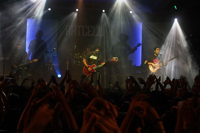 A concert by the Bangladeshi rock band Artcell