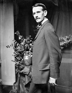 Arthur Bowen Davies - photo by Gertrude Käsebier c.1907