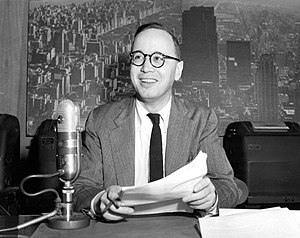 Television program - Arthur Schlesinger, Jr. NBC-TV program 1951