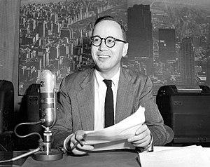 Television program - Arthur Schlesinger, Jr. NBC-TV program 1951