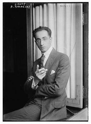 Artur Bodanzky - Artur Bodanzky in 1919