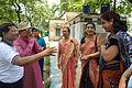 Arup Roy Meets Nisana Foundation Members - Summer Camp - Sibpur BE College Model High School - Howrah 2013-06-09 9714.JPG
