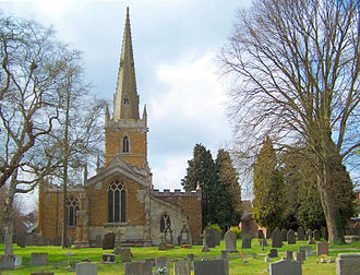 Asfordby - Image: Asfordby church