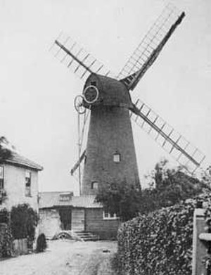 Brixton - Ashby's Mill, Brixton, also known as Brixton Windmill in 1864