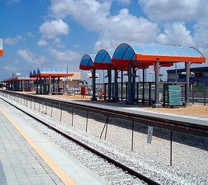 Ashkelon railway station - Image: Ashqelon Railway
