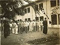 Assembly at the dorm courtyard of Taihoku High School.jpg