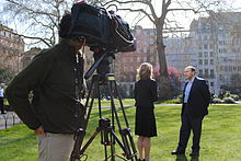 Associate Fellow Ali Ansari speaking to Fox News about Iran (7131591573).jpg