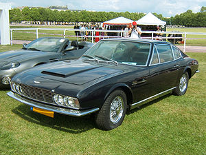 Aston Martin DBS - Image: Aston Martin DB S 1969 avant