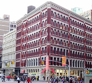NoHo, Manhattan - The Astor Place Building at 444 Lafayette Street was built in 1876