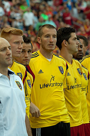 Jeff Attinella - Attinella wearing a Real Salt Lake kit