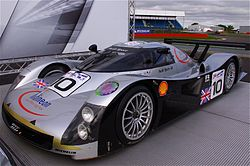 Audi Sport Team Joest's Audi R8C - DNF Le Mans 1999 - at the 6 Hours of Silverstone 2011.jpg