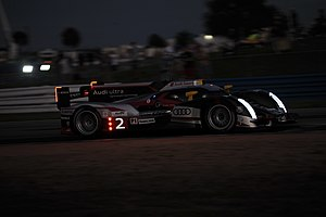 Sports car racing - One of the Audi R18's of Joest Racing during the 2012 12 Hours of Sebring