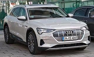 EV SUV by Audi, production vehicle