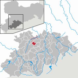 Auerbach, Erzgebirgskreis - Image: Auerbach in ERZ