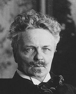 August Strindberg Swedish novelist, poet