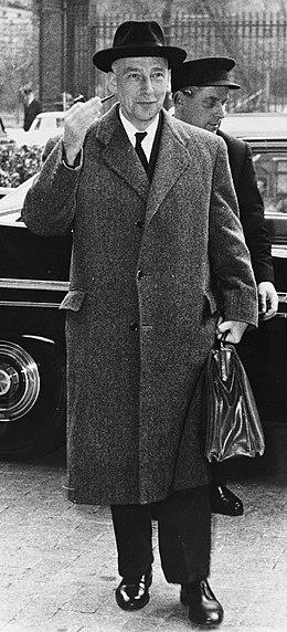 Auguste de schryver wikimonde for Ministre interieur 1960