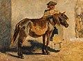 August von Pettenkofen - Ungarischer Hirte mit Pferd.jpg
