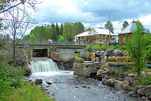 Aumond, Quebec - Image: Aumond QC