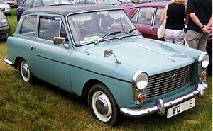 Austin A40 Farina - Image: Austin A40 (Farina) Mk I reg ca 1960