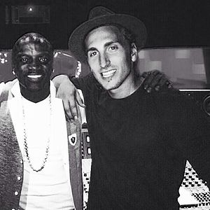 Austin Bisnow - Bisnow with Akon in the studio