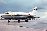 Australian Civil Aviation Authority Fokker F-28-1000 Fellowship at Essendon Airport.jpg