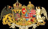 Das mittlere gemeinsame Wappen von Österreich-Ungarn (1915–1918)
