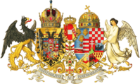 The middle common coat of arms (1915-1918)