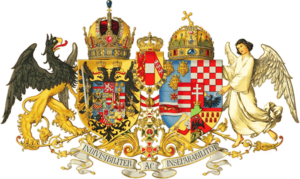 Imperial and Royal - The medium Imperial and Royal coat of arms of Austria-Hungary (as of 1915)