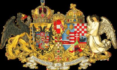 Het wapen van Oostenrijk-Hongarije