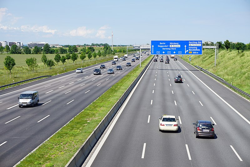 Autobahn bei München