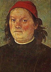 Autoportrait, Palazzo dei Priore, Pérouse