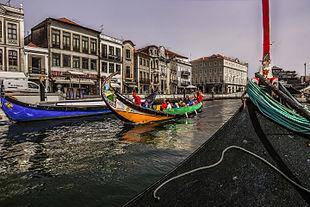 Aveiro, known as the <em>Venice of Portugal</em>