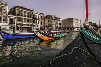 Aveiro, Portugal - Aveiro, known as the Venice of Portugal