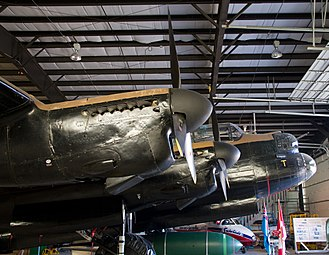 Bomber Command Museum of Canada - Image: Avro Lancaster FM159 at Bomber Command Museum of Canada Flickr 8048031523