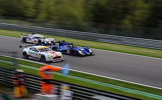 Toyota TS040 Hybrid - The No. 2 TS040 lapping competitors at the 2015 6 Hours of Spa-Francorchamps