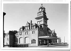 Baltimore & Ohio Railroad Station, Philadelphia - Image: B&O Passenger Station Philadelphia