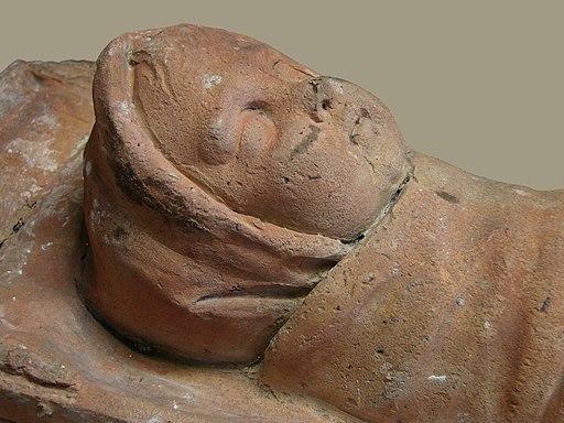 Bébé Ex-voto gallo-romain Musée Saint-Remi 120208
