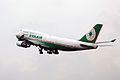 B-16412 - EVA Airways - Boeing 747-45E - CAN (8964303899).jpg