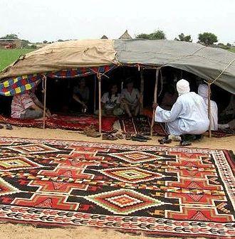 Bahr el Gazel (region of Chad) - Nomads in the region