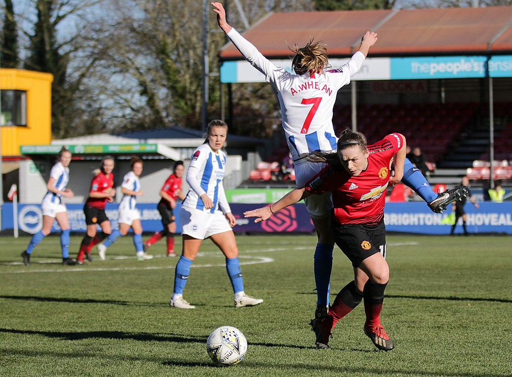 BHA Women 0 Man Utd Women 2 WFAC 4th rd 03 02 2019-1018 (46986407981).jpg
