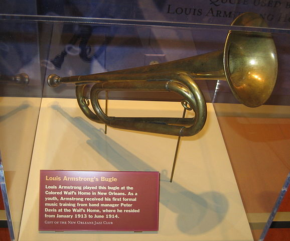 Bugle played by Louis Armstrong