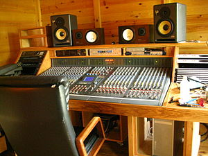 B Room of Supernatural Sound Recording Studio ...