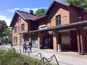 Bastad Station Karta.Bastads Gamla Station Wikipedia