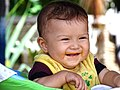 Baby Boy at Lunch - Zipolite - Oaxaca - Mexico (14983154344).jpg