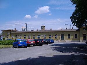 Ingolstadt Nord station - Station building at Ingolstadt Nord