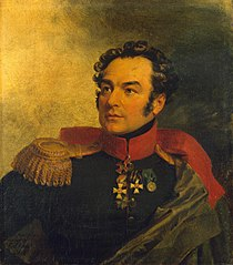 Portrait of Pyotr I. Balabin (1776-1856)