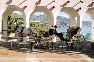 Nerja - Tour into of the Balcón de Europa.
